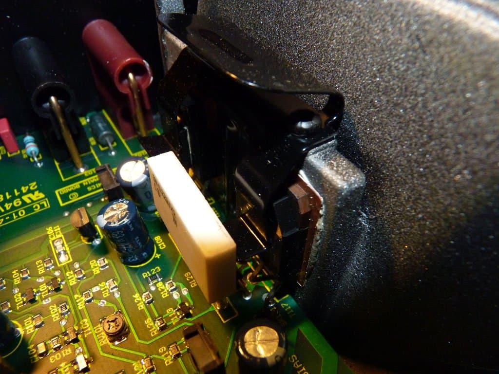 Cyrus Q power - versterker transistors