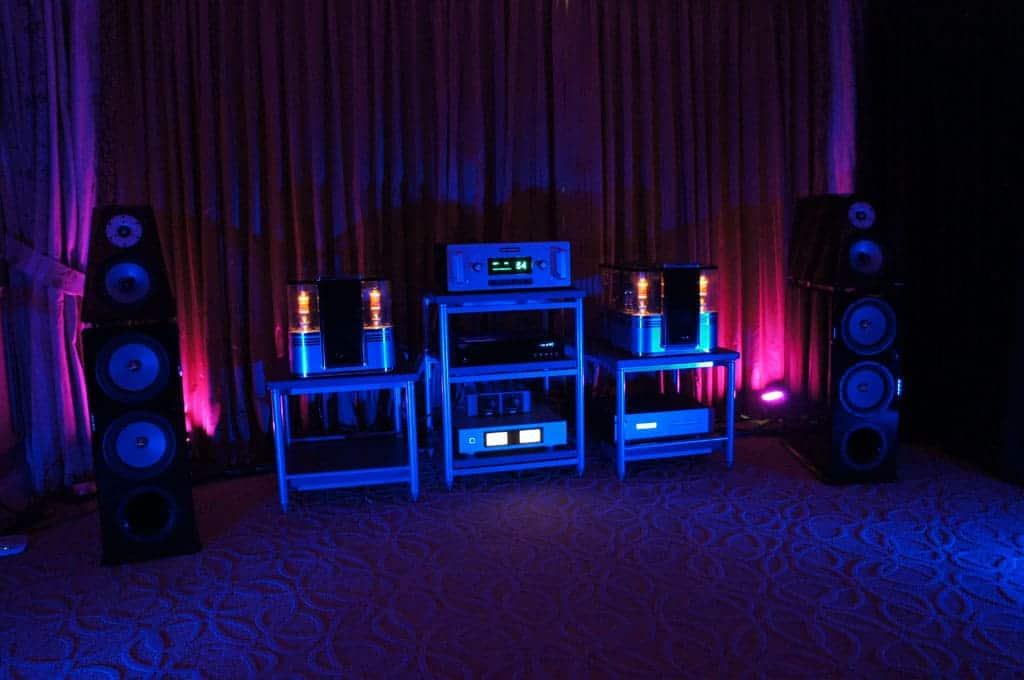 Audio Power Labs met Von Schweikert