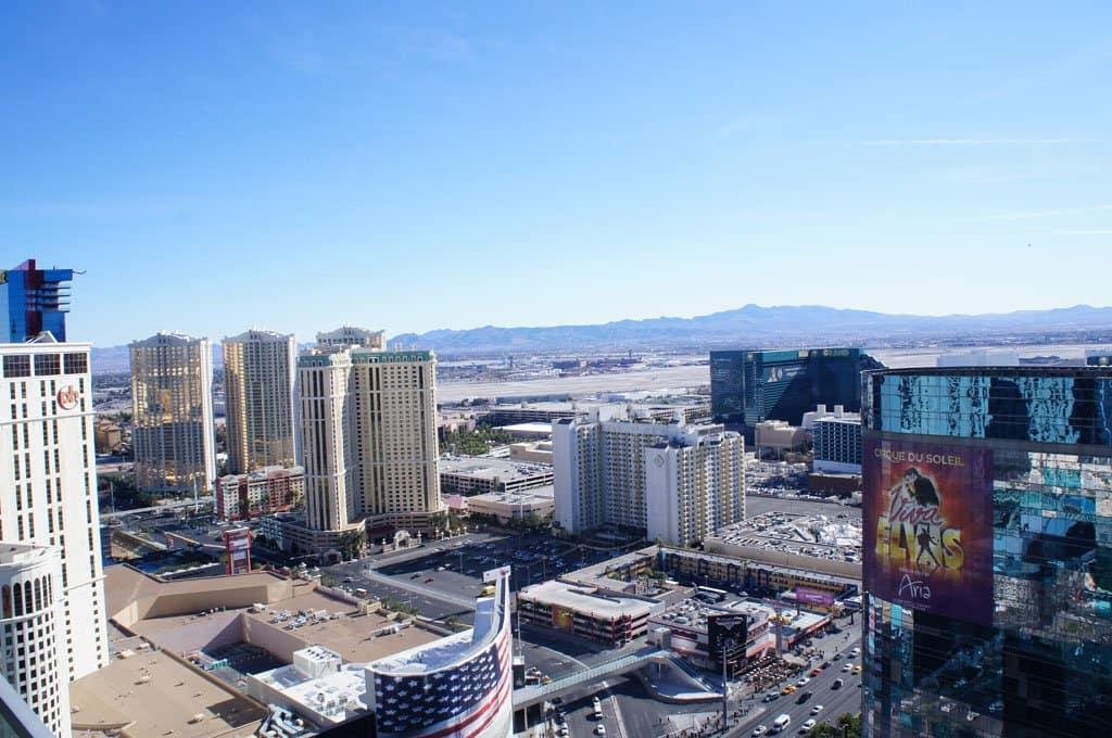 Vegas overdag