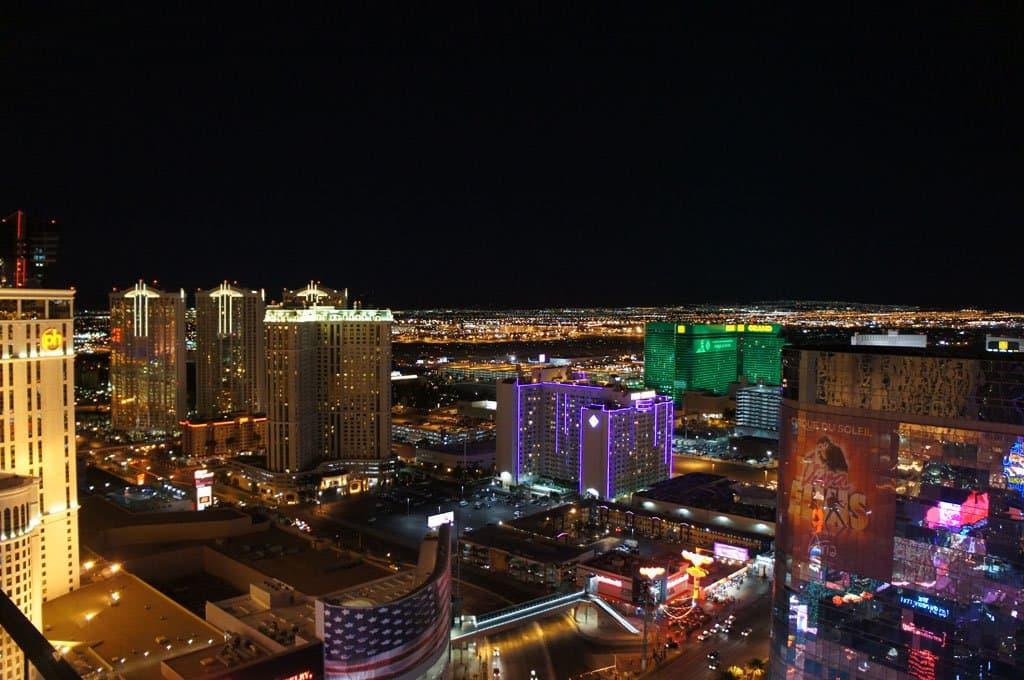 Vegas 's nachts