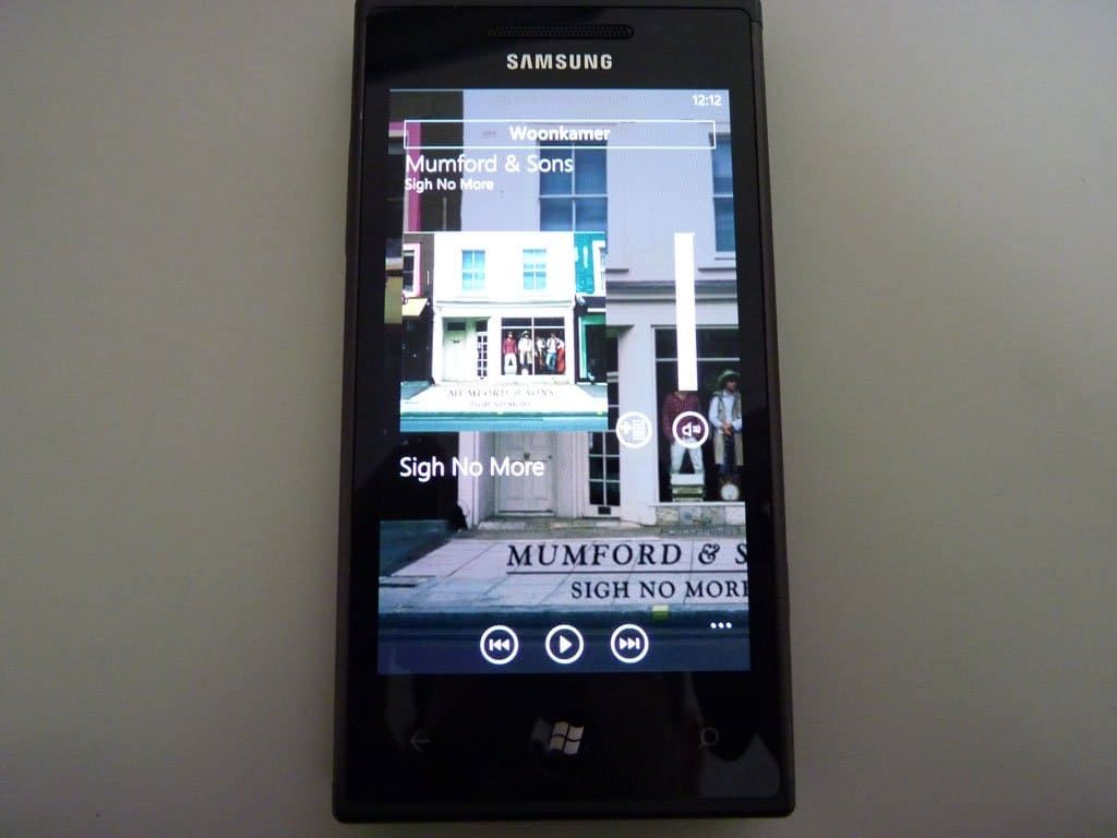 Phonos Windows Phone 3
