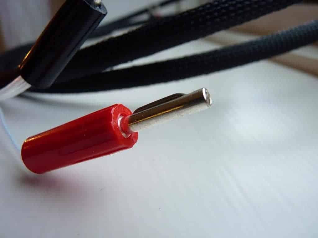 Solid Core luidsprekerkabel plug