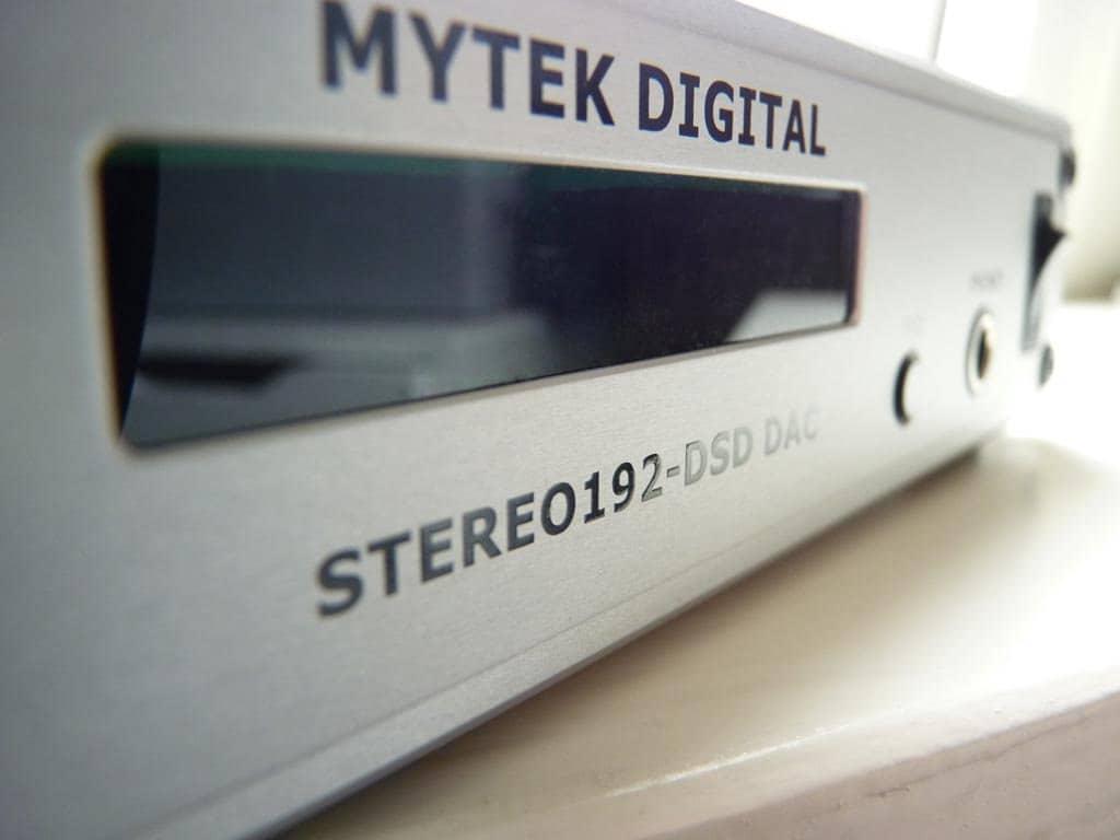 Mytek Stereo192 dsd dac front