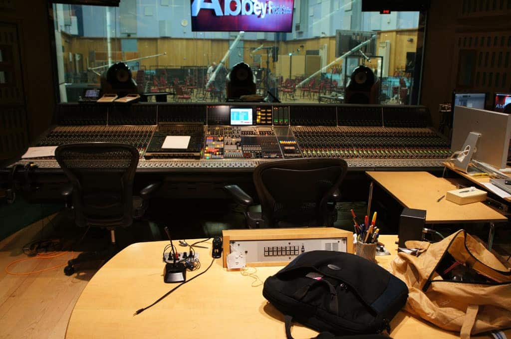 Mixruimte studio 1 Abbey Road