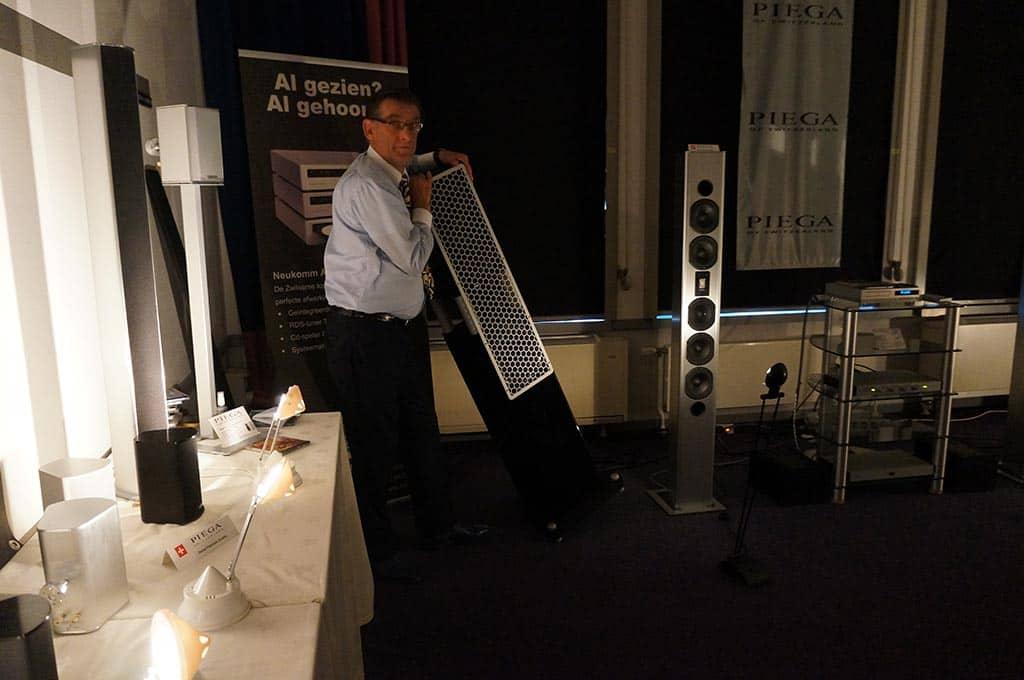 Een absoluut fasereine speaker bij BSA: schuin, scheef... het maakt niet uit.