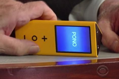 Neil Young Pono player