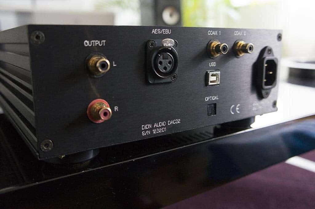 Dion Audio DAC32 d/a-converter met usb