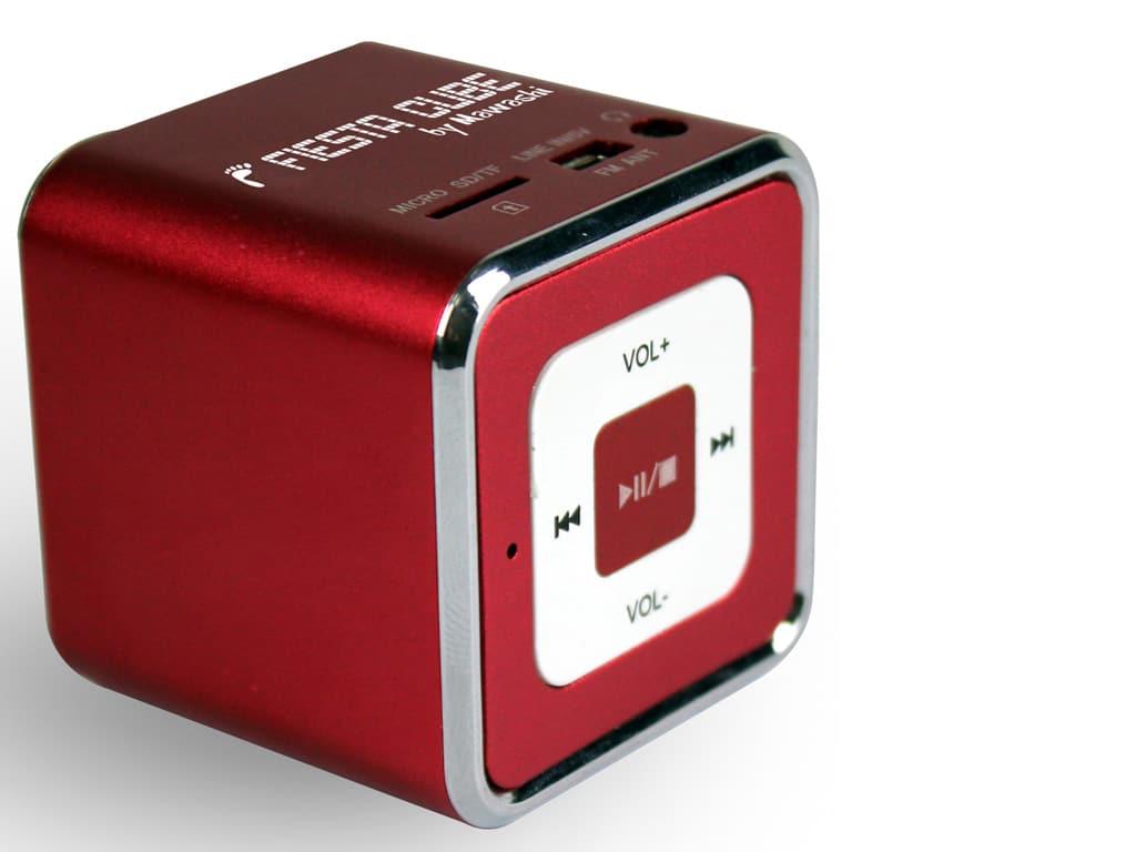 Fiesta Cube - Red