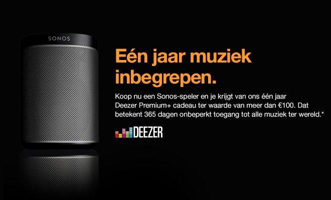Sonos en Deezer