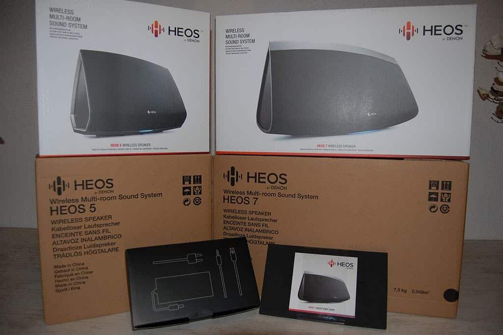 HEOS 5 en HEOS 7