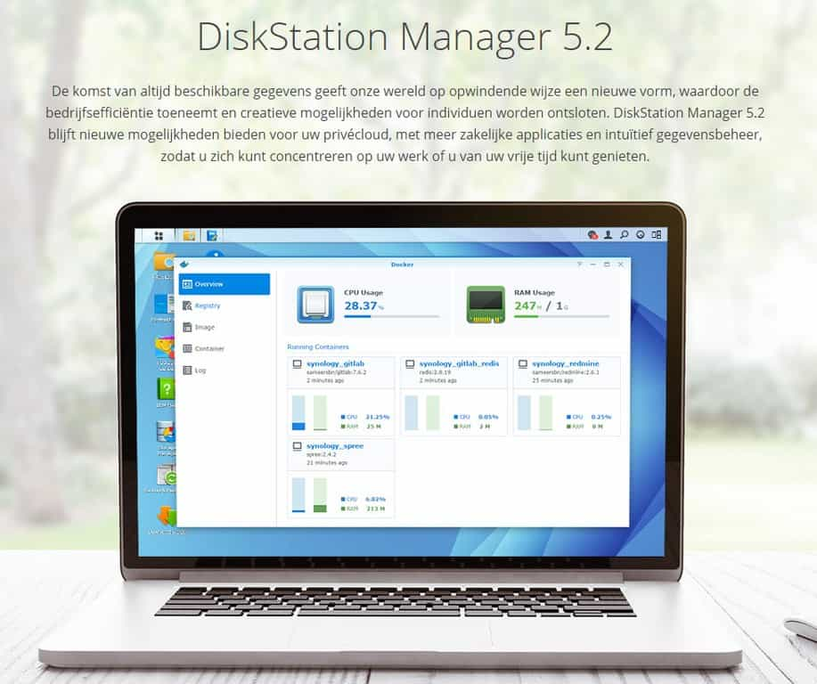 DiskStation Manager 5.2