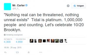 Twitter Tidal