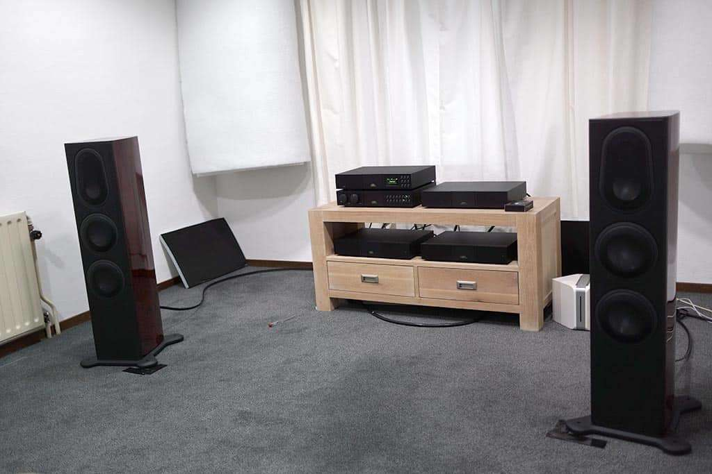 Monitor Audio - NAIM set