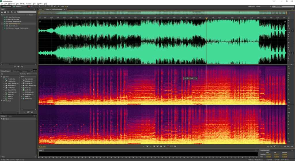 Radiohead spectral analyse 2