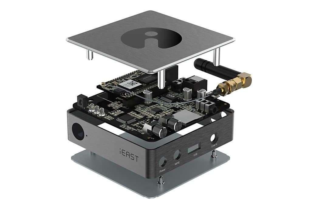 De SoundStream Pro van iEast bevat onder meer een Sabre DAC